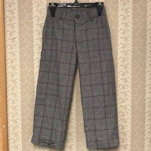 Janie and Jack plaid pants
